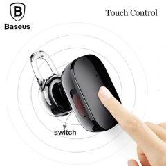 BASEUS Encok A02 Plating Single Mini Bluetooth 4.1 Stereo Earphone - Black