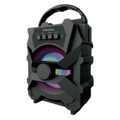PRODA PD-S500 Xunshen Portable Wireless Bluetooth Speaker FM Radio / SD Card Reader / AUX / USB Black