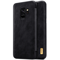 Samsung Galaxy S8 & S8 Plus Creative Design Leather  Flip Case Cover Black