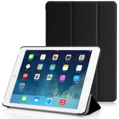 Black PU Leather Smart Case Cover for Apple iPad Mini 4
