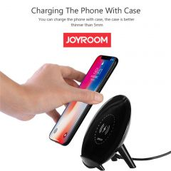 Joyroom Desktop Bracket Qi Wireless Charger For Smartphones JR-K10  Black