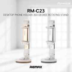 Remax RM-C23 Multi Angle Rotation Car Desktop Mount Holder Stand for Mobile Phone 3 to 6.3 Inch