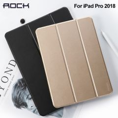 Rock For iPad Pro 2018 11  inch PU Leather Case Ultra Thin Flip Cover Case