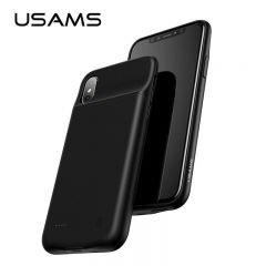 USAMS Battery Charger Case for iPhone X 3200mAh Power Bank Case For iPhoneX 10 Portable Charging Case protector