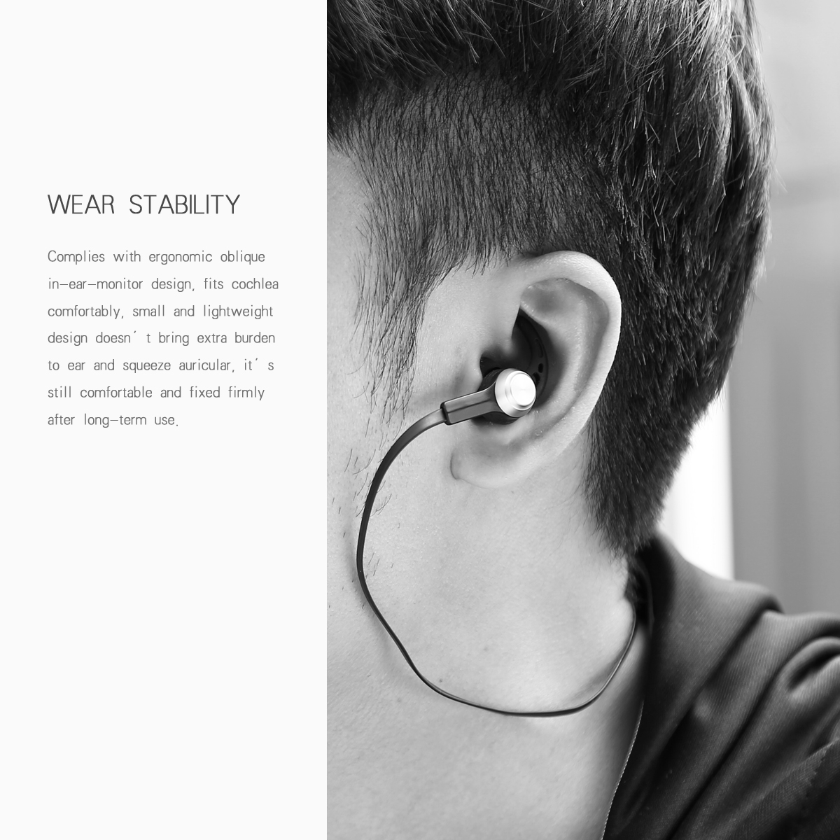 Baseus B11 Licolor Magnet Bluetooth Earphone Wireless Headset Bluetooth V4.1 Earphone