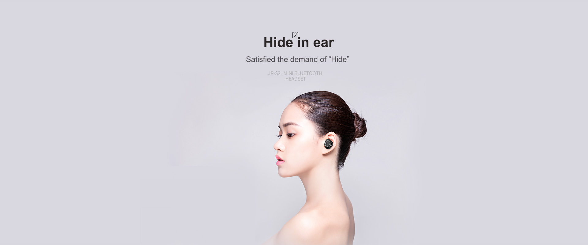 Joyroom JR-S2 Wireless Single Earphone Bluetooth V4.1+EDR Mini Bluetooth